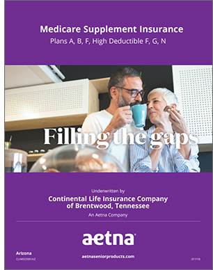2019 Aetna Medicare Supplement Brochure for Arizona Seniors