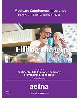 2019 Aetna Medicare Supplement Brochure for Arizona Seniors